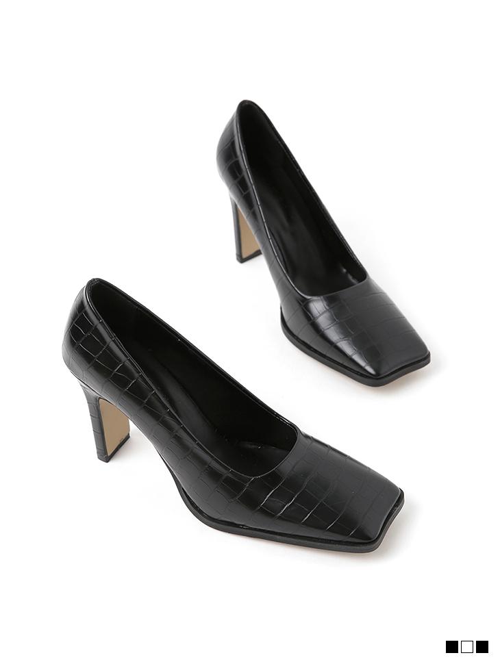 AR-2688 square High heels Pumps