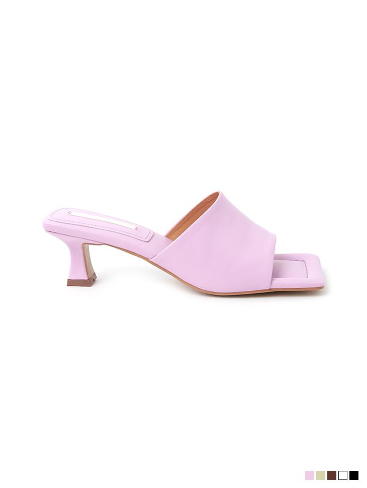 AR-2693 square High heels mule
