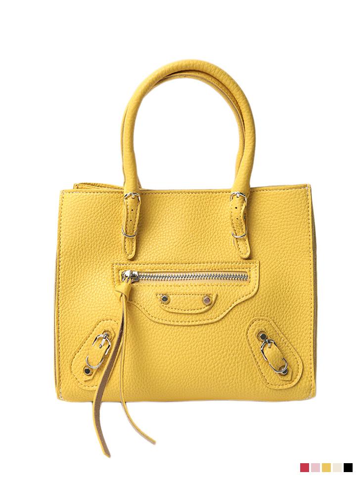 A-1275 Mini Strap Leather tote Bag
