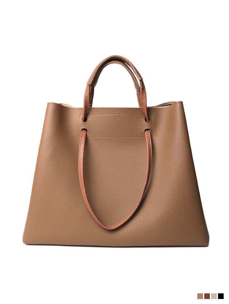 A-1277 Big Leather shoulder Bag