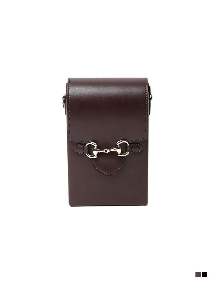 A-1284 Mini Leather Cross Bag
