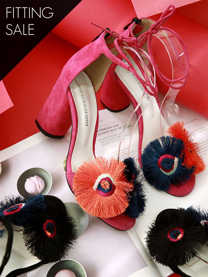 PS2095 Strap heels *Fitting sale*