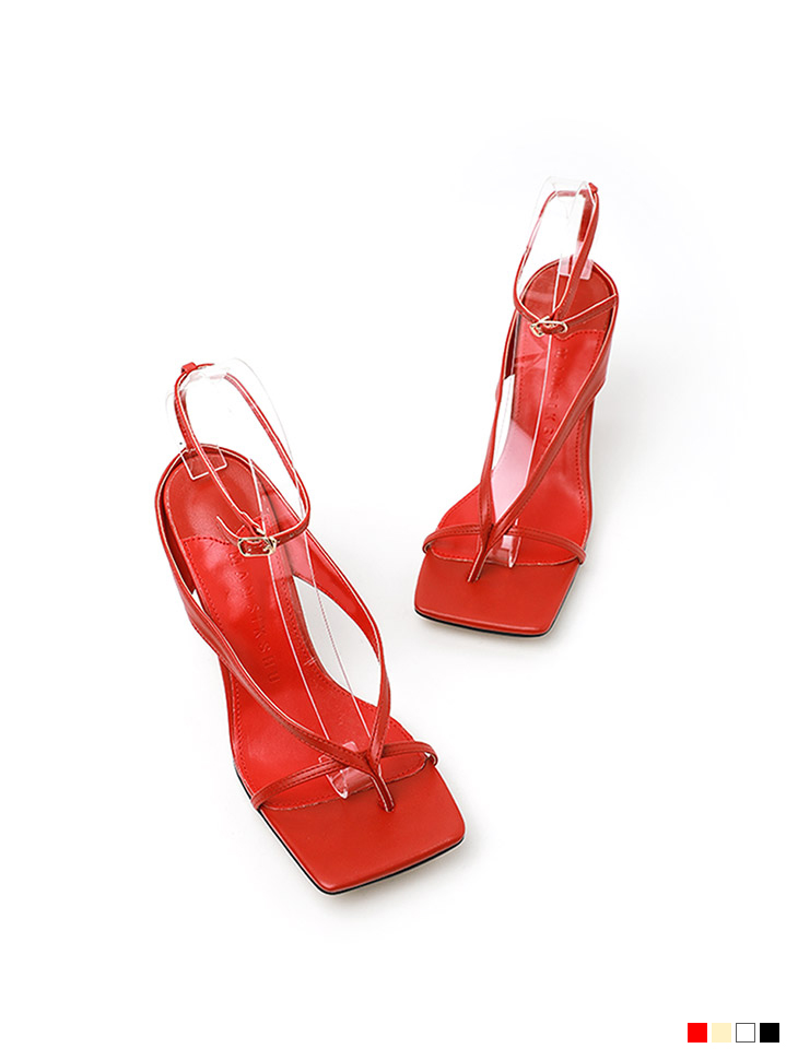 AR-2699 square thin Strap High heels sandals