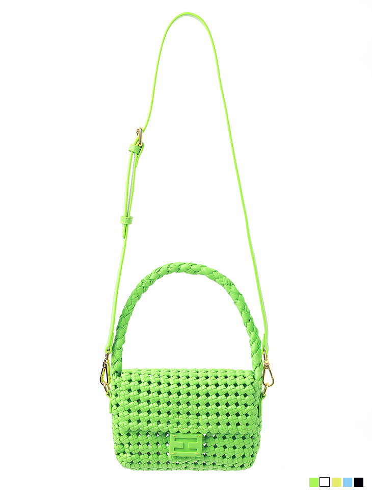 A-1292 twist Mini tote bag