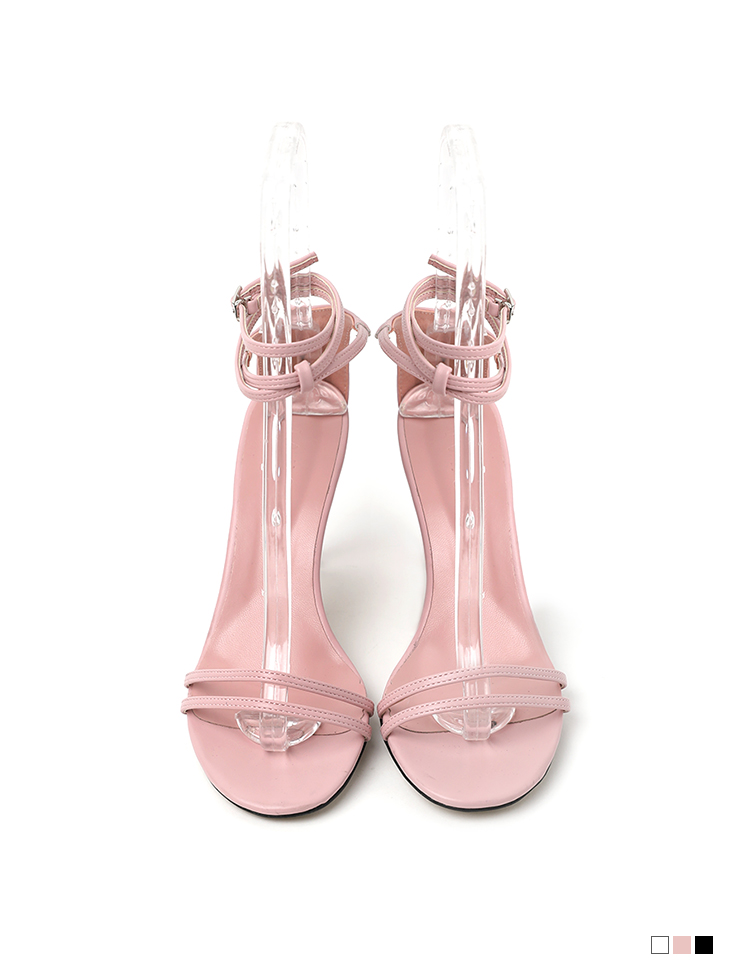 AR-2718 Two Strap High heels sandals