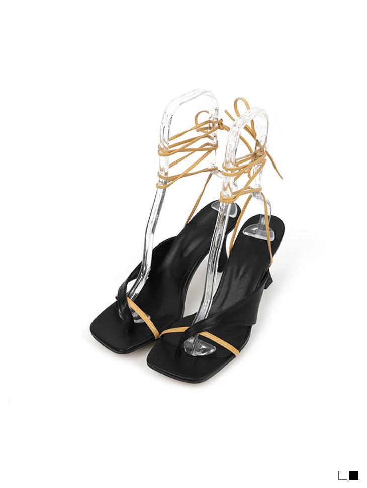 AR-2719 other thin Strap flip flop High heels sandals