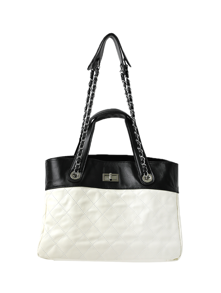 A-1303 real Leather Chain shoulder Bag