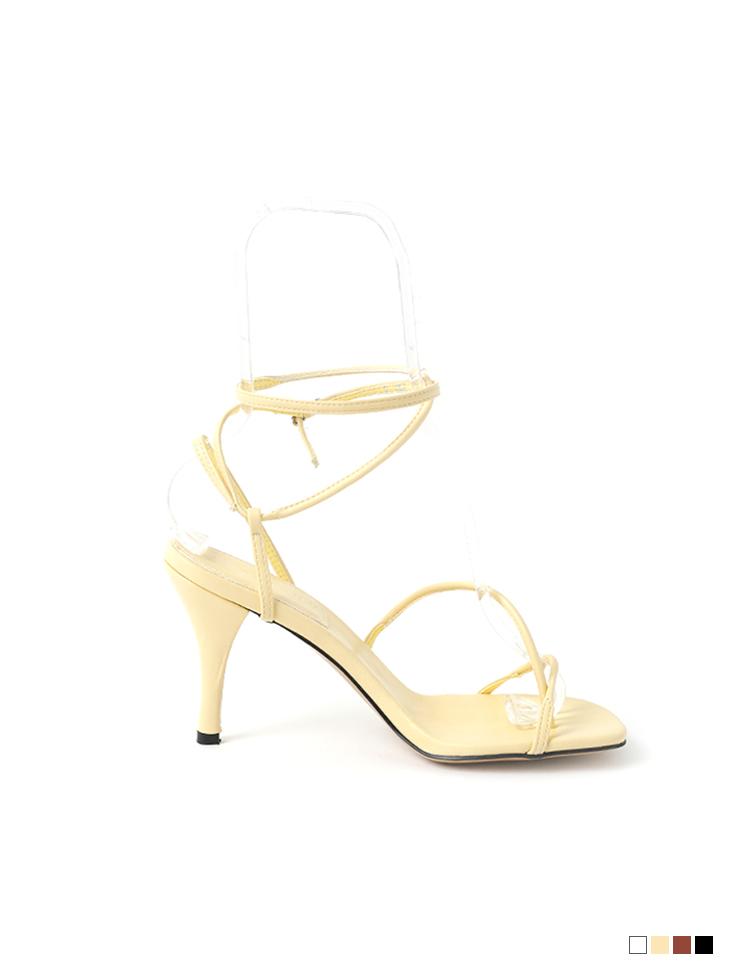 AR-2720 Strap flip flop High heels sandals