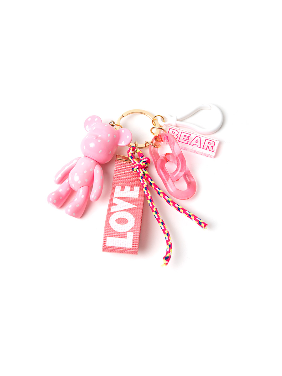 EC-189 pink bear key ring