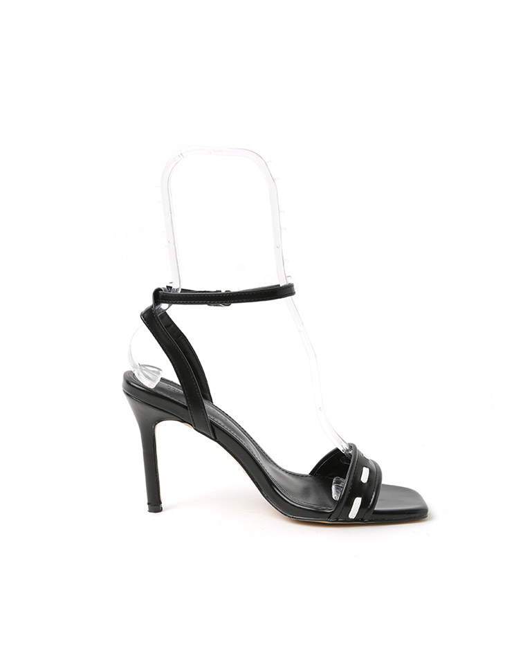 AR-2733 White stitch High heels sandals