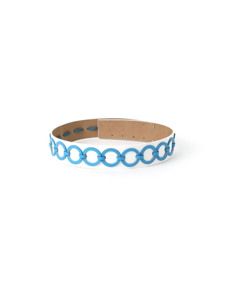 AT-425 bold Round Point Leather Belt