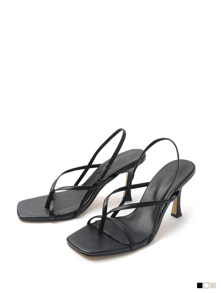 AR-2780 twist flip flop High heels sandals