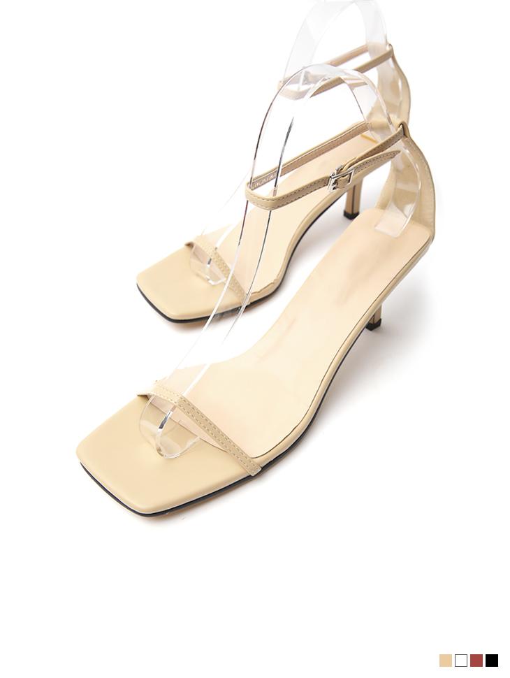 AR-2781 square Strap High heels sandals