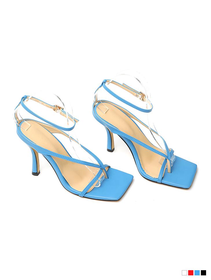 AR-2778 Strap flip flop High heels sandals