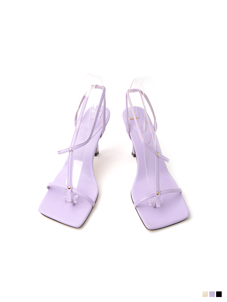 AR-2788 thin Strap flip flop High heels sandals