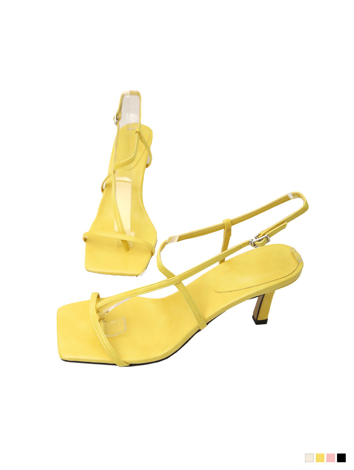 AR-2790  thin Strap flip flop High heels sandals