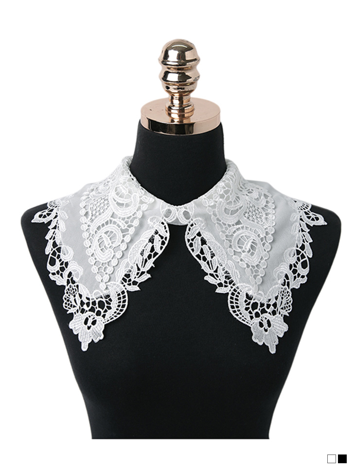 EC-187 프엔 Lace wide Neck Cover(12nd REORDER)