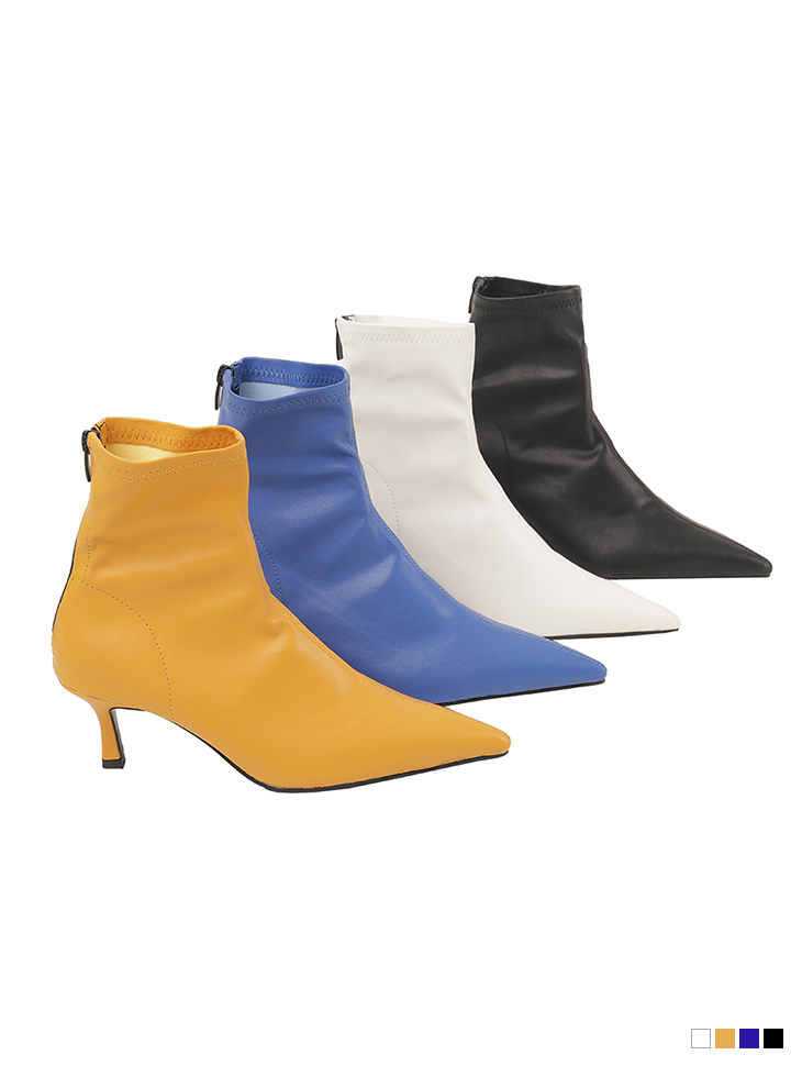 AR-2829 카렌 Leather stiletto socks High heels ankle boots(9th REORDER)