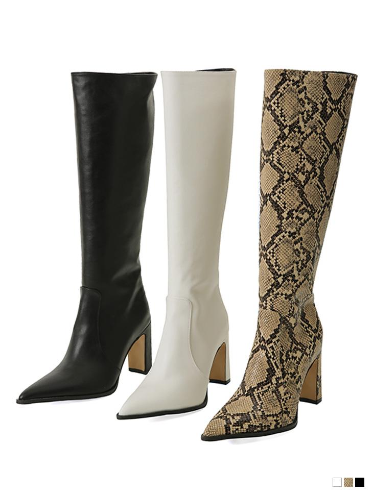 AR-2850 point stiletto High heels Long boots