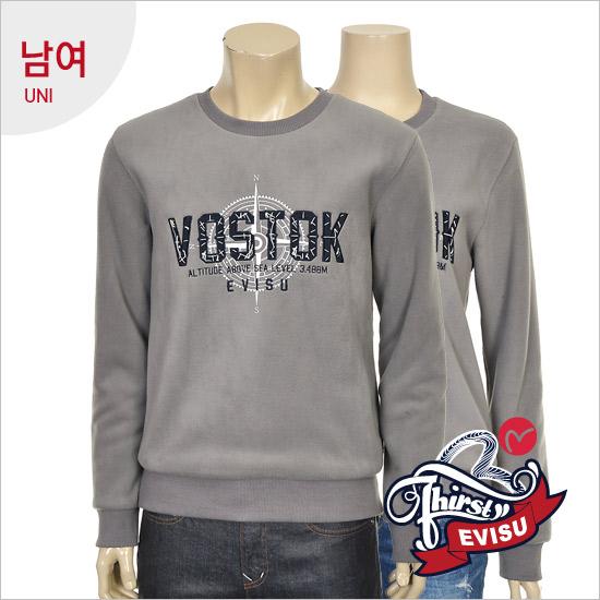 Uni-bonded fleece boa _VOSTOK man-to-man t-shirts EN4RT301_GR