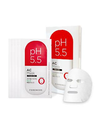 [5 pieces]pH5.5 Epicaic arc weakly acidic mask