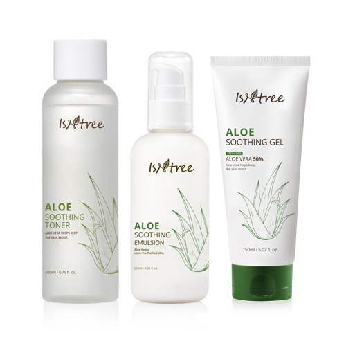 Aloe Soothing 3 kinds Set(Fresh Type)