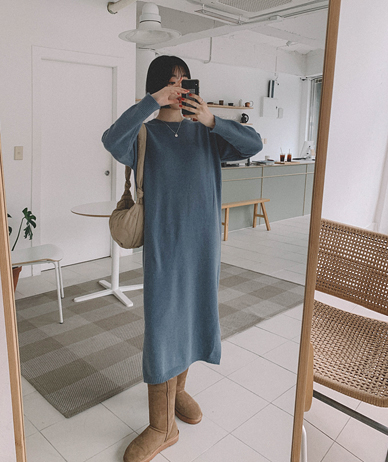 Camille Knit Long One Piece