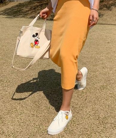 Hello Mickey Canvas Bag