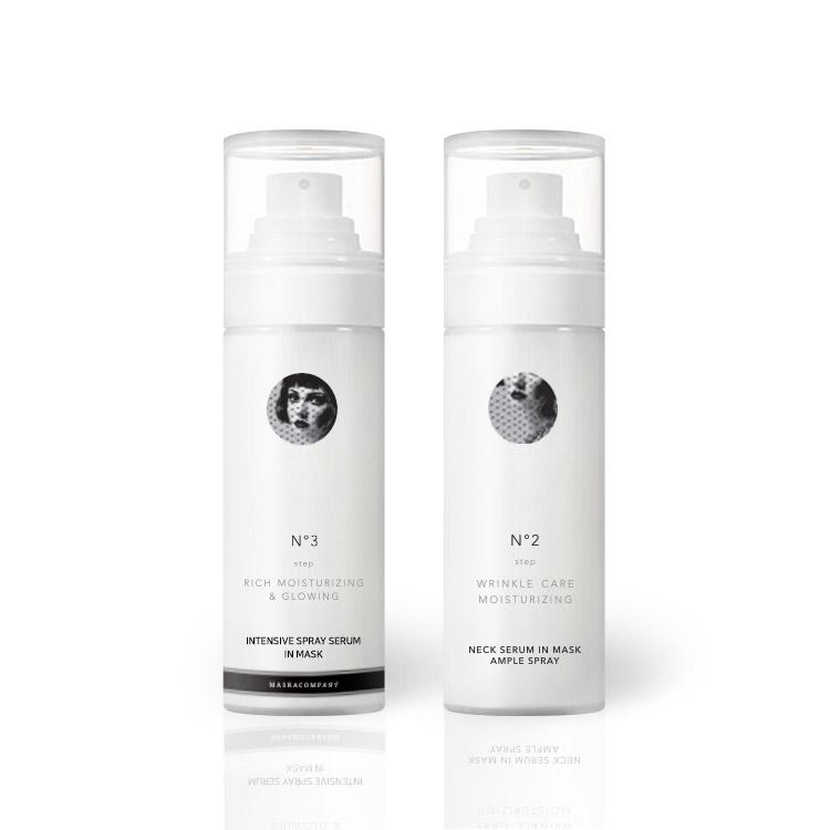 [Moisture + Neck Spray] MASKACOMPANY Intensive Moisture Spray  + Wrinkle-Improving Functional Neck Care Ample Spray
