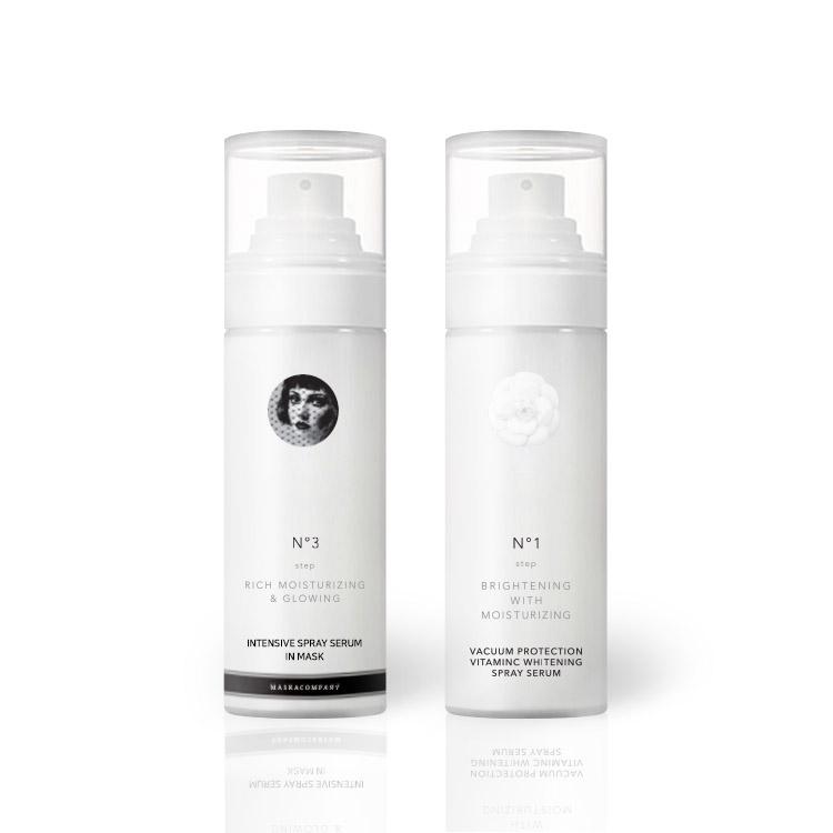 [Moisture + Brightening Spray] Intensive Moisture Spray + VitaminC Freckle&Spot Care Brightening Spray