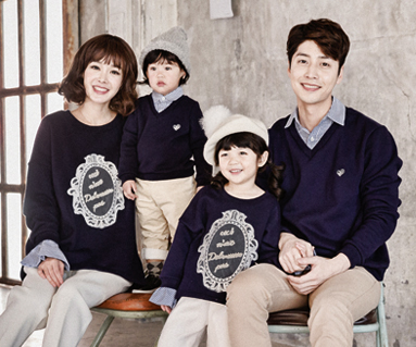 """Brushed Royal Dandy family long sleeve_16D03 <font color=""""#FF6666""""><strong>[Order available]</strong></font>"""