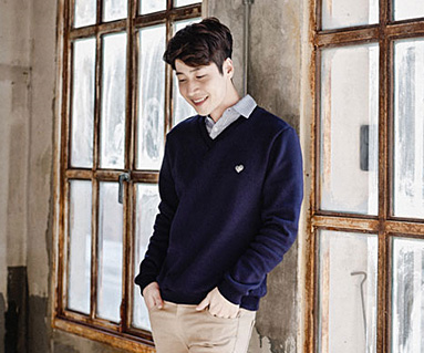 """Brushed Royal Dandy male long sleeve_16D03 <font color=""""#FF6666""""><strong>[Order available]</strong></font>"""