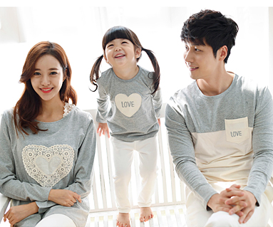 Cotton family long sleeve_15C01A
