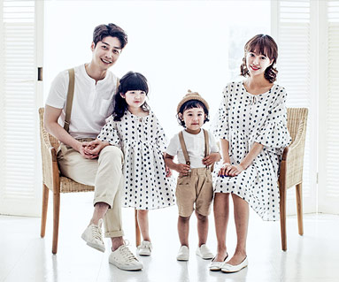"""<font color=""""ffffff"""">[Family tee & family look] <br></font> Marian family short T-shirts_17B22"""