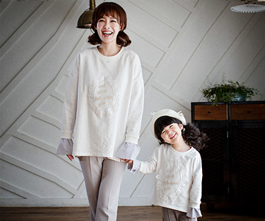 Royal dandy mother and baby long sleeve_17A10