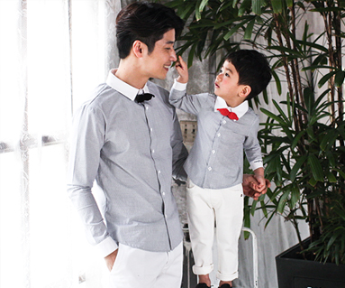 Romantic royal Daddy and baby long sleeve_17A11