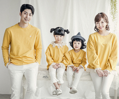 "<font color=""ffffff"">[Family long sleeve tee & family look] <br></font> Luna race family long sleeve_18A05"