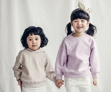 "<font color=""ffffff"">[Family long sleeve tea & family look] <br></font> Merry frill baby long sleeve_18A01K"