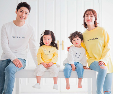 "<font color=""ffffff"">[Family long sleeve tea & family look] <br></font> family hohohaha long sleeve 19A02 <font color=""red""><b> </b></font>"