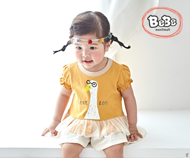 """<font color=""""ffffff"""">[Family short T-shirts Tee & Family look] <br></font> Camping Duck Shirling T short T-shirts Children 19B01 / Children's Clothing, Kids Clothes, Kids Clothes"""