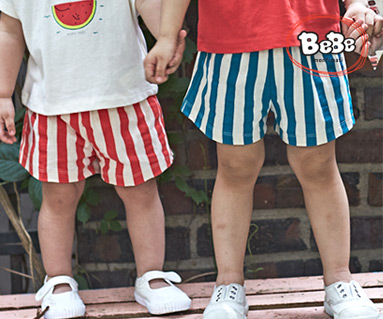 "<font color=""ffffff"">[Family Short-sleeved Tea & Family Look] <br></font> Watermelon Shorts 19B11 / Kids wear, kids clothes, kids look"
