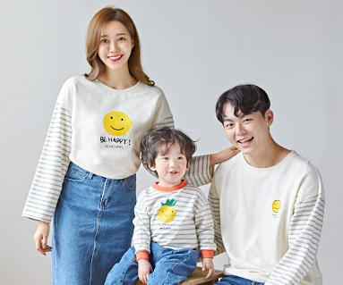 "<font color=""ffffff"">[Family long sleeve tea & family look] <br></font> family be happy Man to man long sleeve 19C03 <font color=""red""><b> </b></font>"