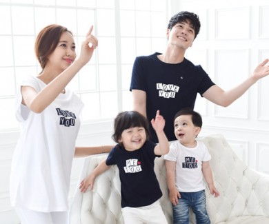 Mitu family short T-shirts