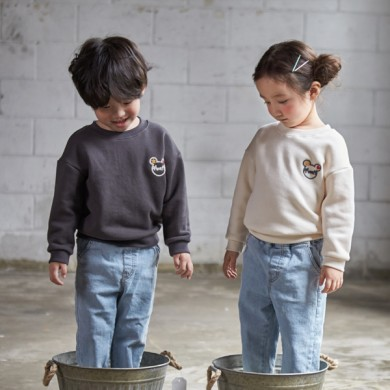 """<font color=""""ffffff"""">[Family Long Sleeve Tee & Family Look]<br></font> Children Mamma Mia Man to man 20C02<font color=""""red""""><b> </b></font>"""