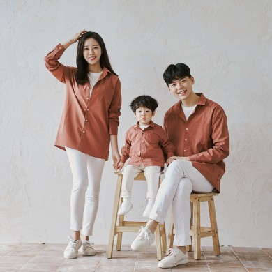 Holiday Brown shirt family 21C04S/family