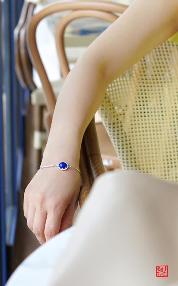 1012964 - [나스첸카 NASCHENKA] 터닝 포인트 _ lapis lazuli 청금석 팔찌