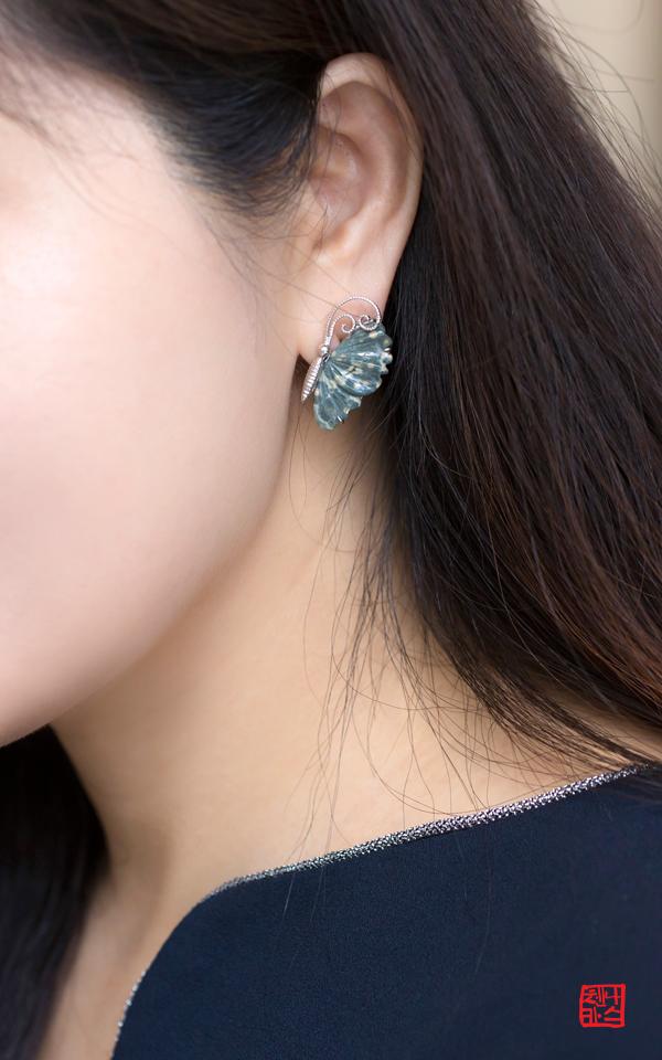 1193667 - [나스첸카 NASCHENKA] 연리지 [連理枝] _ 쟈스퍼 귀걸이