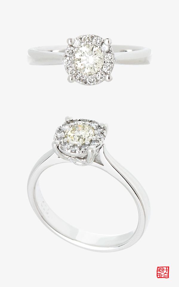 1467404 - [나스첸카 NASCHENKA] CELEBRATE ME _14K 다이아몬드 반지
