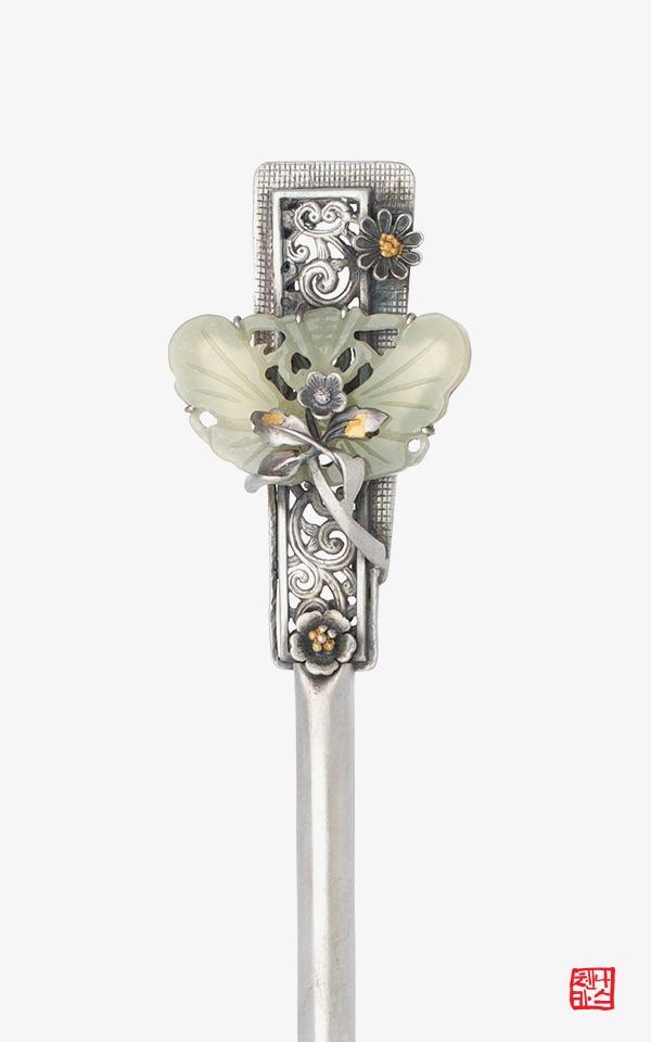 1469752 - [나스첸카 NASCHENKA] 문화유산 옥비녀 02 _ 전통비녀 옥비녀 한복비녀