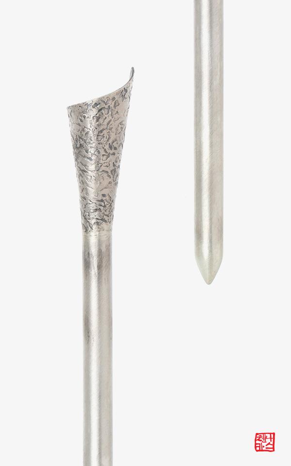 1317827 - [나스첸카 NASCHENKA] 종이말기 _ silver metal 크래프트 _ 은 젓가락 비녀